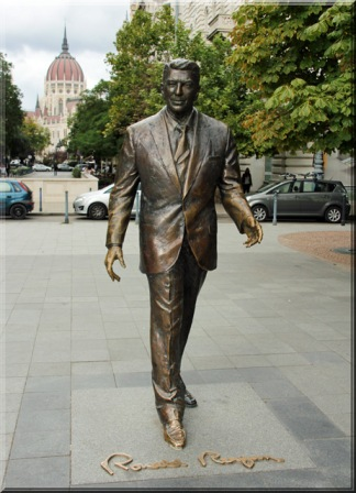 Ronald Reagan, seit 2011 in Bronze